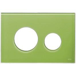 Ovládací tlačítko Tece Loop sklo, zelená 9.240.685