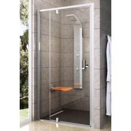 Sprchové dveře Ravak Serie 300 jednokřídlé 100 cm, čiré sklo, bílý profil 03GA0101Z1