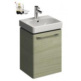 Skříňka s umývátkem Kolo Kolo 45 cm, jasan bělený, univerzální otevírání SIKONKOT45JB
