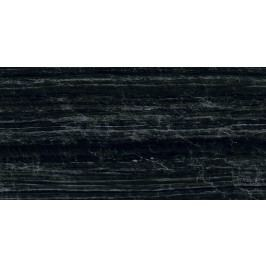 Dlažba Graniti Fiandre Marmi Maximum Nero Supreme 75x150 cm, leštěná, rektifikovaná MML296715