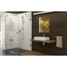 Sprchový kout Ravak Brilliant jednokřídlá 80 cm, čiré sklo, chrom profil 0ULG4A00Z1