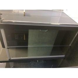 Sprchové dveře Huppe Aura Elegance posuvné 150 cm, čiré sklo, satin profil, univerzální 401417.087.375