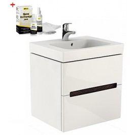 Skříňka s umyvadlem Kolo Modo, bílá lesklá SIKONKOM60BL