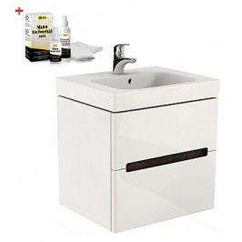 Skříňka s umyvadlem Kolo Modo, bílá lesklá SIKONKOM80BL
