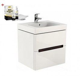 Skříňka s umyvadlem Kolo Modo, bílá lesklá SIKONKOM50BL
