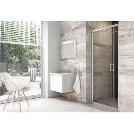 Sprchové dveře Ravak Serie 200 zlamovací 80 cm, čiré sklo, chrom profil X01H40C00Z1