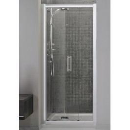 Sprchové dveře Ideal Standard Synergy skládací 80 cm, čiré sklo, chrom profil L6368EO