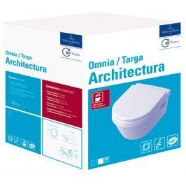Závěsné WC se sedátkem softclose Villeroy & Boch Omnia Architectura, zadní odpad 5684H101