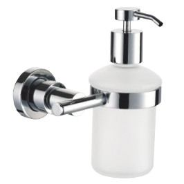 Multi Dávkovač mýdla Soft kulatý nástěnný SOF99NEW