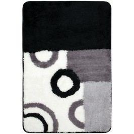 Koupelnová předložka akryl Optima 60x90 cm, černobílá PRED001