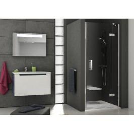 Sprchové dveře Ravak Serie 700 jednokřídlé 90 cm, čiré sklo, chrom profil 0SP7AA00Z1