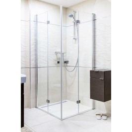 Sprchový kout Anima SK skládací 100 cm, čiré sklo, chrom profil SK100100