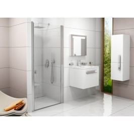 Sprchové dveře Ravak Chrome jednokřídlé 80 cm, čiré sklo, chrom profil 0QV40C00Z1