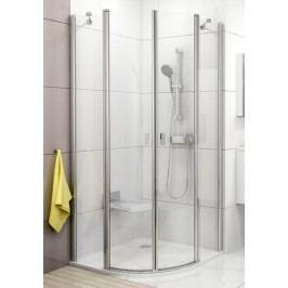 Sprchový kout Ravak Chrome čtvrtkruh 90 cm, čiré sklo, chrom profil 3Q170C00Z1