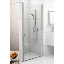 Sprchové dveře Ravak Chrome jednokřídlé 80 cm, čiré sklo, satin profil 0QV40U00Z1