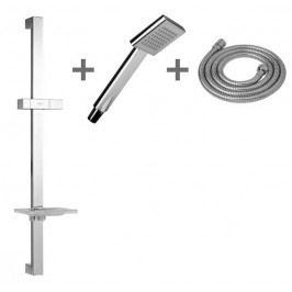 Sprchový set Jika Cubito, 1 funkce, hranatý design H3604210040411