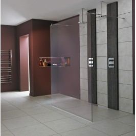 Pevná stěna Ideal Standard Wetroom Walk-in 70 cm, čiré sklo L6220EO
