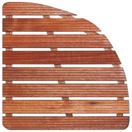 Aris Sprchová rohož-dřevo ČTVRTKRUH 74x74x4cm ROHOZ90S