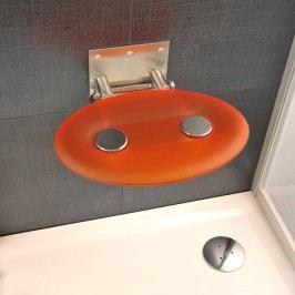Ravak Sprchové sedátko OVO P Orange B8F0000005