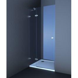 Sprchové dveře Anima T-Glass jednokřídlé 80 cm, čiré sklo, chrom profil TGD280T