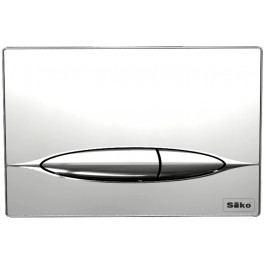 Ovládací tlačítko Siko sklo, chrom P46-0018
