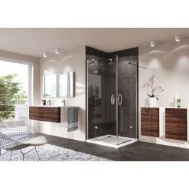 Sprchové dveře Huppe Strike jednokřídlé 90 cm, čiré sklo, chrom profil, levé 430302.092.322