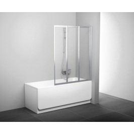 Vanová zástěna Ravak VS3 100x140 cm univerzální, čiré sklo 795P0U00Z1
