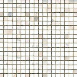 Premium Mosaic Stone Kamenná mozaika bílá leštěná 1,5/1,5 STMOS15WHP