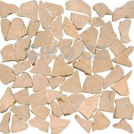 Premium Mosaic Stone Kamenná mozaika krémové kameny 30/30 STMOSCRW