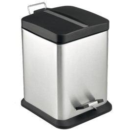 Optima Odpadkový koš 6 l, nerez, mat KOS6PLCTVER