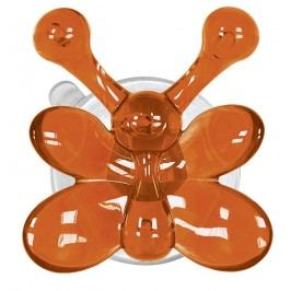 Kleine Wolke Nástěnný háček s přísavkou Crazy Hooks, oranžová 5068488887