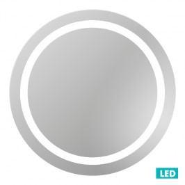 Naturel Zrcadlo s osvětlením led Iluxit 67x67 cm IP55, bez vypínače ZIL6767KLEDBV