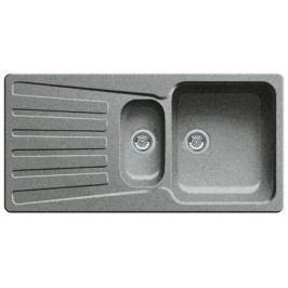 Dřez Blanco NOVA 6 S 100x50 cm aluminium 511699