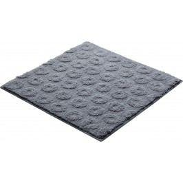Koupelnová předložka polyester Grund 55x55 cm, šedá SIKODGLIS553