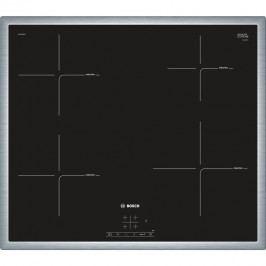 Bosch Indukční deska 60cm, nerez rámeček PIE645BB1E