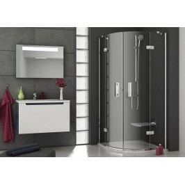 Sprchový kout Ravak Smartline čtvrtkruh 80 cm, čiré sklo, chrom profil 3S244A00Y1