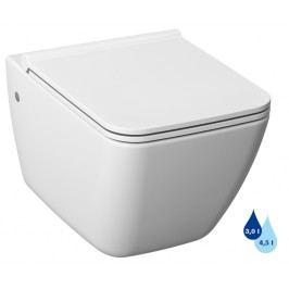 Závěsné WC se sedátkem softclose Jika Cube Way, zadní odpad, 54cm SIKOSJPU20423
