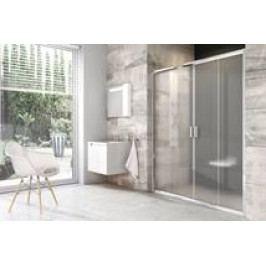 Sprchové dveře Ravak Blix posuvné 120 cm, neprůhledné sklo, chrom profil