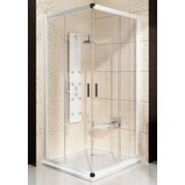 Sprchový kout RAVAK BLRV2-90 bílá+Grape 1LV70100ZG