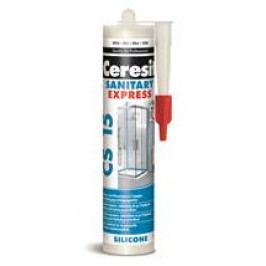 Silikon Ceresit CS15 280 ml bílá CS15EX01