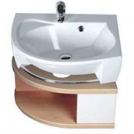 Skříňka pod umyvadlo Ravak Rosa, bílá/bříza X000000239