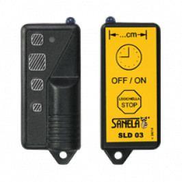 SANELA dálkové ovládání pro nastavení parametrů infračervených čidel SLD03
