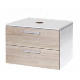 Koupelnová skříňka pod umyvadlo Naturel Vario Dekor 69x45 cm dub bardolino VARIODESK75ZBIDB