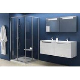 Sprchový kout RAVAK SRV2-100 S bílá+transparent 14VA0102Z1