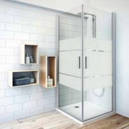 Sprchové dveře 100x201,2 cm Roth Tower Line chrom matný 727-1000000-01-20