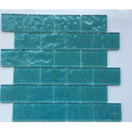 Premium Mosaic Mozaika tyrkysová 4,8x7,3 water effect MOS4872TU