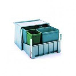 Odpadkový koš FRANKE sorter 700 K 60 2x 8 l, 2x 18 l