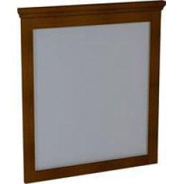 Zrcadlo Sapho Cross 70x80 cm Mahagon CR012