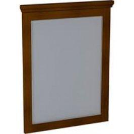 Sapho SAPHO-CROSS zrcadlo 60x80x3,5cm, mahagon CR011