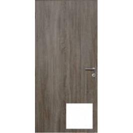 Protipožární vstupní dveře, 80 cm, levé, bílá, DPOB80L